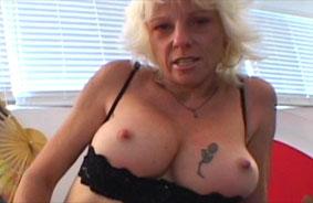 Grandmother Masturbating