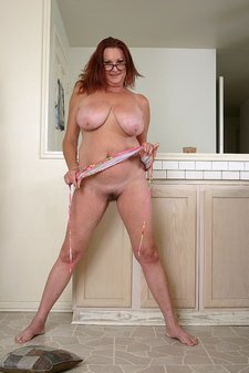 Busty Redheaded Sexy Granny9